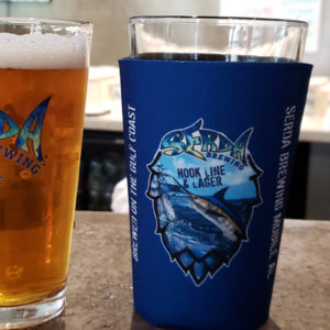 Pint Glass Coozie Serda Brewing