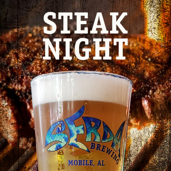 Serda Brewing Steak Night