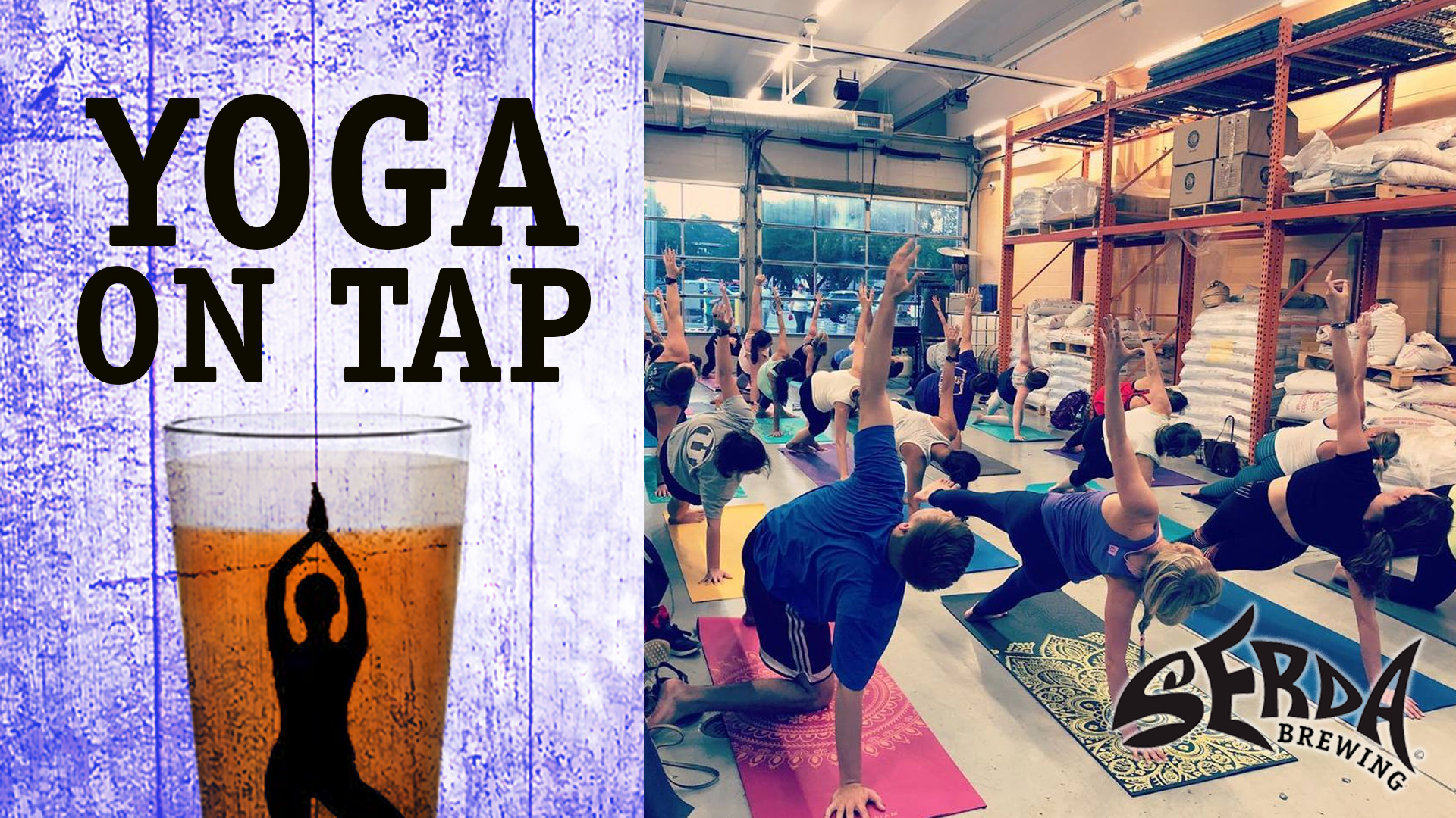 Serda Brewing Yoga on Tap