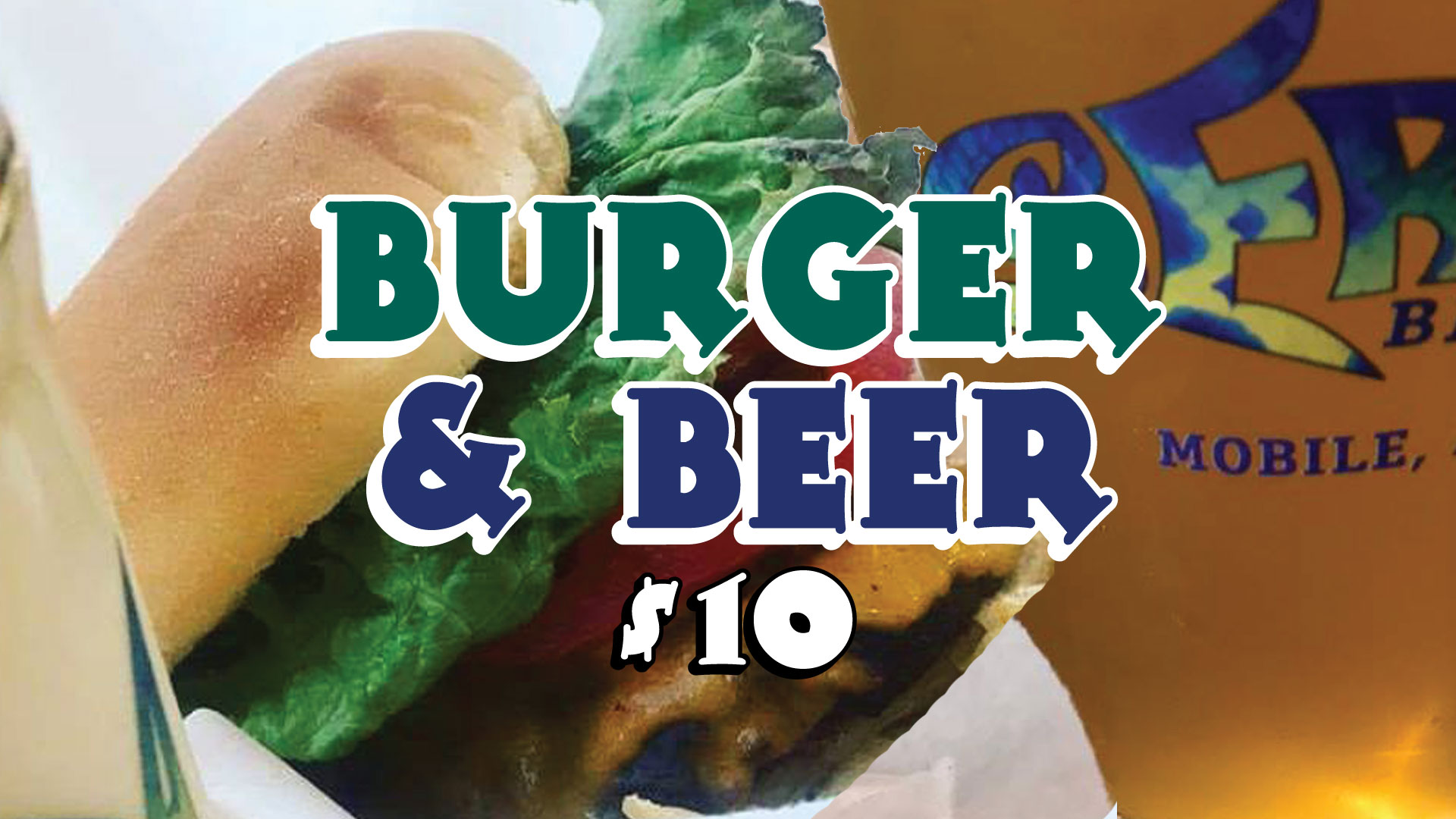 Serda Brewing Burger and Beer Night