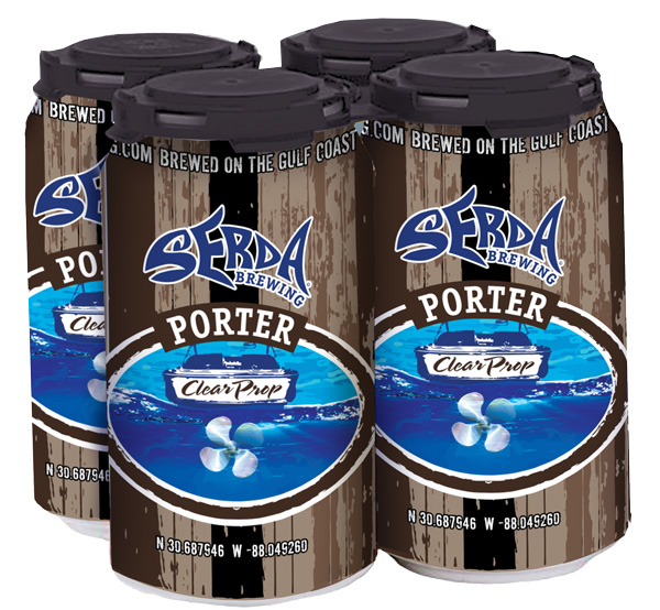 Serdas Brewing Clear Prop Porter